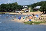Dużo plażowiczów nad zalewem Chańcza. Można tutaj poczuć prawdziwy klimat lata (ZDJĘCIA, WIDEO)