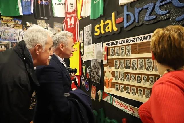 Brzeska koszykówka doczekała się miejsca, w którym każdy kibic może zapoznać się z historią lokalnych klubów basketballowych.