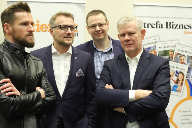 Krzysztof Przytuła, Tomasz Salski, Michał Feter, Adam Kaźmierczak
