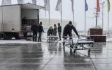 Wojewoda pomorski wystąpił do ministra zdrowia o zgodę na otwarcie szpitala tymczasowego w halach AmberExpo