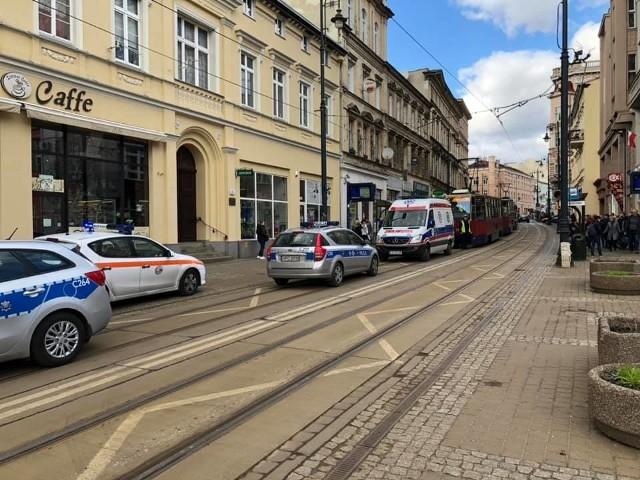 Do zdarzenia doszło przy ul. Gdańskiej 9, w czwartek, około godz. 14.30