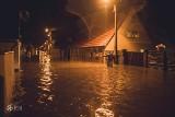 Kargowa pod wodą. Zalane ulice, piwnice, samochody. Mamy wideo i zdjęcia