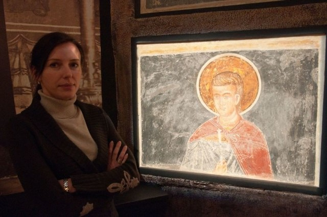 z Muzeum Ikon w Supraślu: - To pierwsza ministerialna dotacja dla naszego muzeum na konserwację zabytkowych fresków.