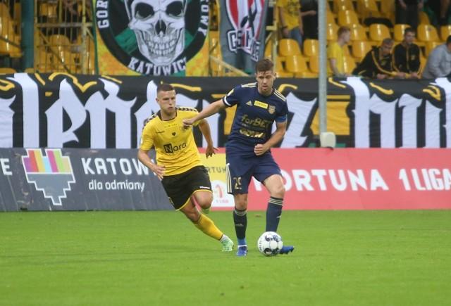 Michał Marcjanik w drugiej połowie wyrównał stan pojedynku Arki Gdynia z GKS-em Katowice.
