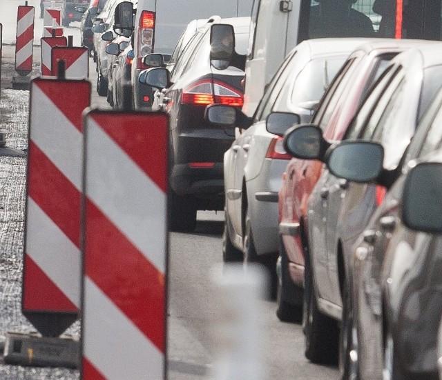 Korek na A4 w Katowicach zaczyna się już przy od węźle murckowskim