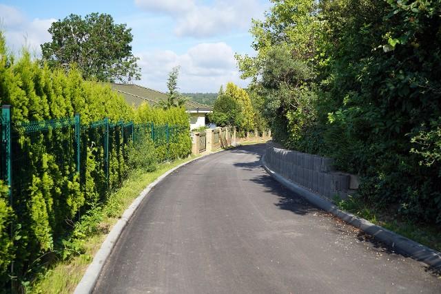Zakończył się remont drogi prowadzącej przez wieś Lutówko w gminie Sępólno