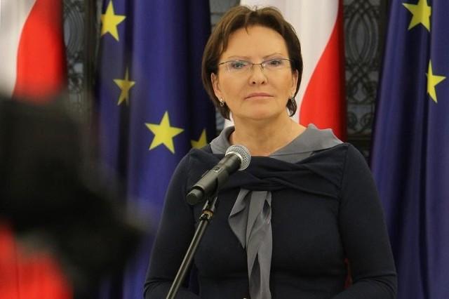 Premier Ewa Kopacz przedstawiła nowy rząd.