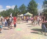 Dzień Dziecka w Białobrzegach. Był festiwal kolorów i zabawa z bajkowymi postaciami