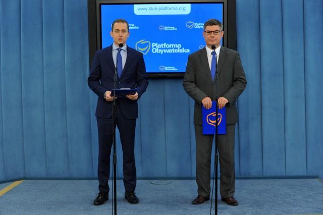 Cezary Tomczyk i Jan Grabiec
