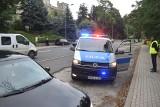 Zderzenie trzech samochodów na ulicy Chrobrego w Krośnie Odrzańskim. Były utrudnienia w ruchu drogowym