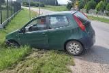 Pijany kierowca wjechał do rowu. Znalazł go Komendant Komisariatu Policji w Wolborzu