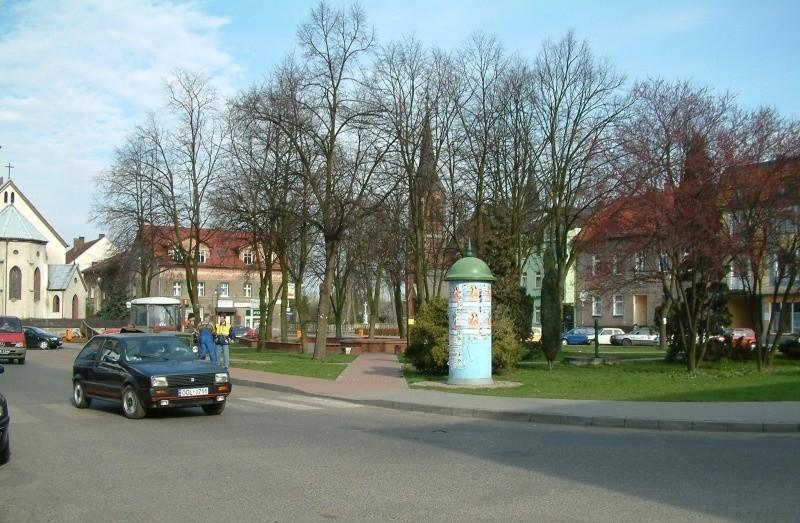 Rynek w Gorzowie Śląskim