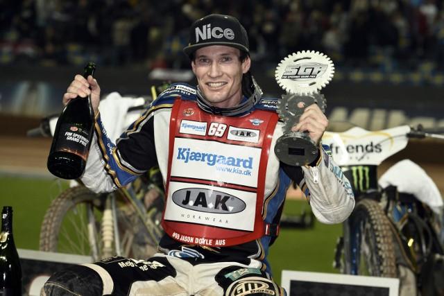 Jason Doyle wygrał trzy turnieje z rzędu w tym sezonie. Ma jeszcze szanse na srebrny lub brązowy medal w Grand Prix.