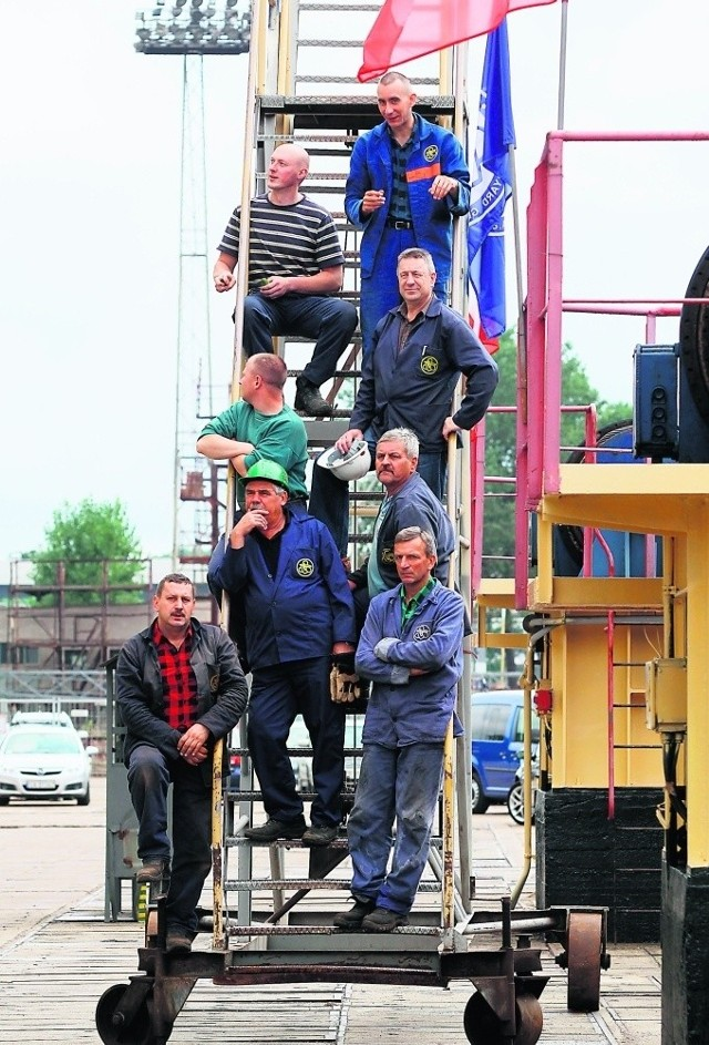 Stoczniowcy z Gdyni muszą liczyć się ze zwolnieniami