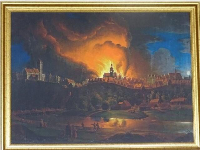 Największy pożar w historii miasta wybuchł 230 lat temu