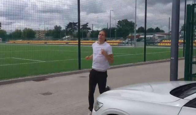 Bodvar Bodvarsson spóźnił się na poranny trening Jagiellonii