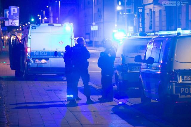 Policyjna akcja w czwartkowy wieczór w Słupsku.