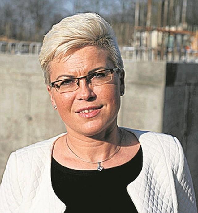 Agnieszka Wróbel, dyrektor sprzedaży w firmie deweloperskiej w Łodzi