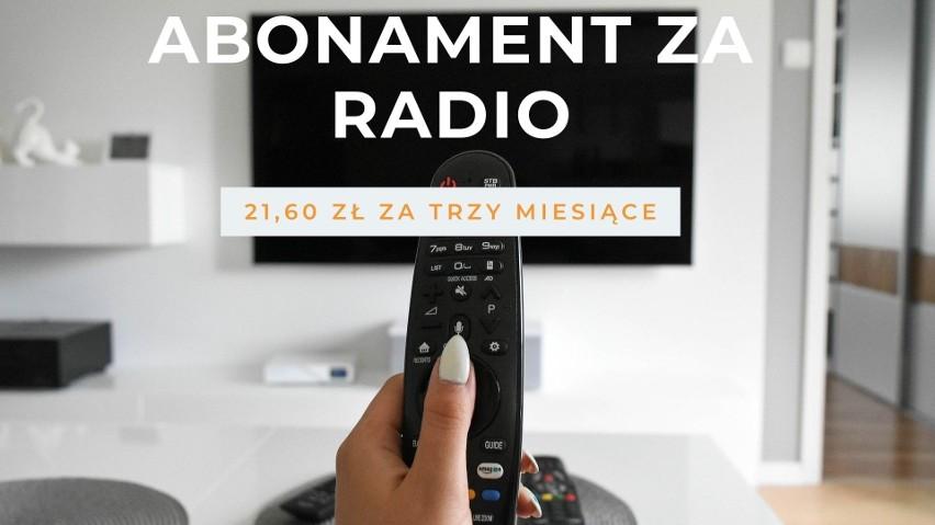 Tyle zapłacisz za abonament RTV w 2022 roku. Mamy najnowsze stawki! [19.07.21 r.]