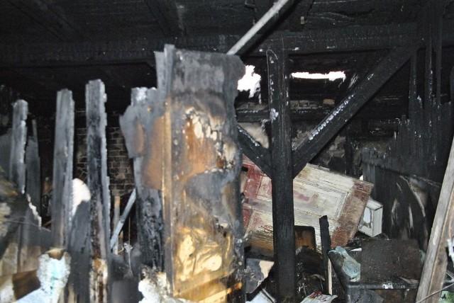 W pożarze 18 marca, dobytek straciły rodziny mieszkające w kamienicy przy ulicy Legionów 5.