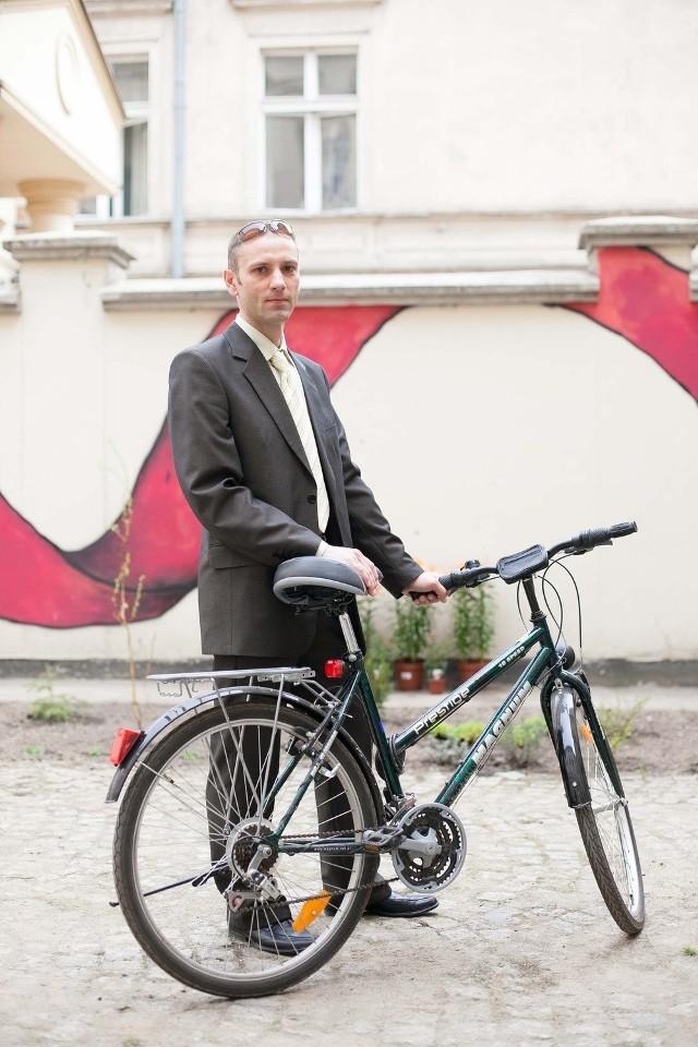 Adam Ochmański nie jest już pełnomocnikiem rowerowym prezydent Łodzi