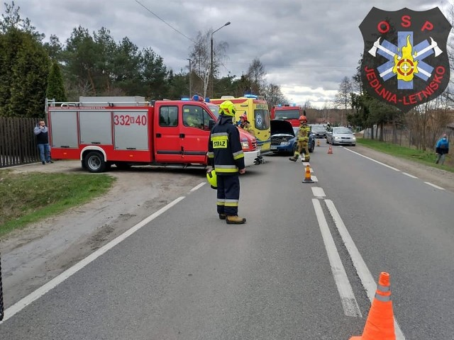 W niedzielę wielkanocną doszło do wypadku w miejscowości Antoniówka.