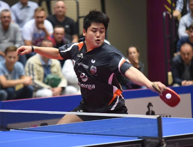 Cazuo Matsumoto wywalczył jedyny punkt dla Energi Manekina w Szwecji.