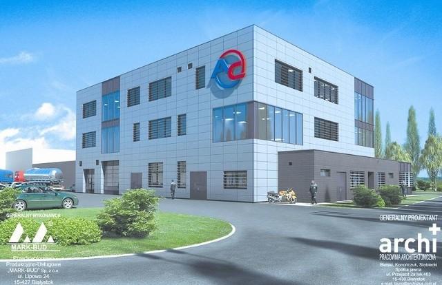 Siedemnaście milionów złotych będzie kosztowało Centrum Naukowo-Badawcze, które buduje białostocka firma AC