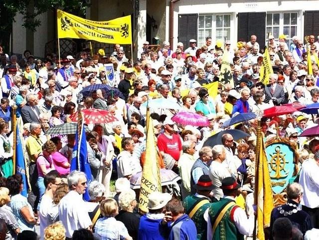 Co roku Zjazdy Kaszubów (na zdjęciu ubiegłoroczny w Pucku) gromadzą rzesze ze wszystkich stron Pomorza
