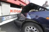 Tir zderzył się z osobówką na S8. Zablokowana droga w kierunku Wrocławia