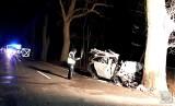Wypadek w Ligocie Prószkowskiej. Nie żyje 35-letni mężczyzna, jego 30-letnia żona i półroczna córeczka. 7-letni chłopiec jest w szpitalu