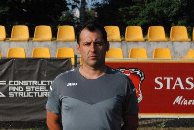 Artur Góra został drugim trenerem Pogoni Staszów.