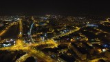 Zjawiskowe zdjęcia Żor i Rybnika z drona. Również zdjęcia nocne! GALERIA I FILMY