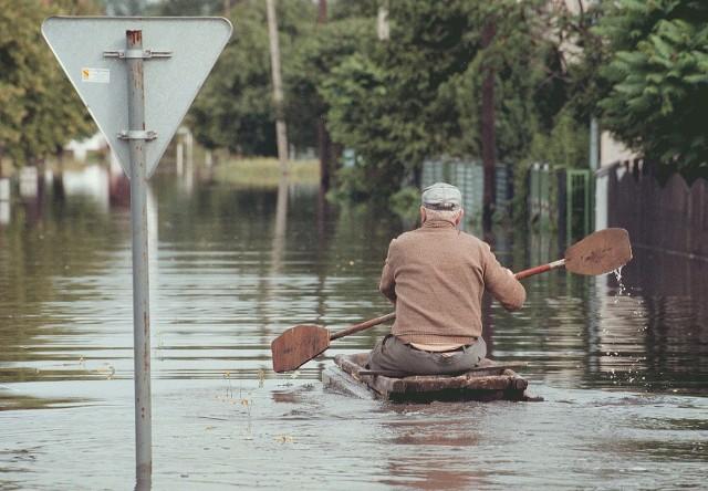W 1997 roku woda całkowicie zalała Olzę, Odrę i Kamień