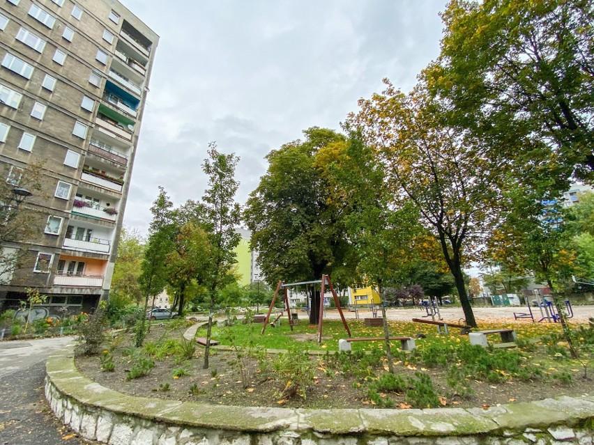 Teren przy 11-pietrowych blokach będzie bardziej zielony, zachęcający do wypoczynku.