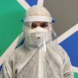 W Kieleckim Parku Technologicznym produkują przyłbice na twarz zabezpieczające przed przenoszeniem koronawirusa