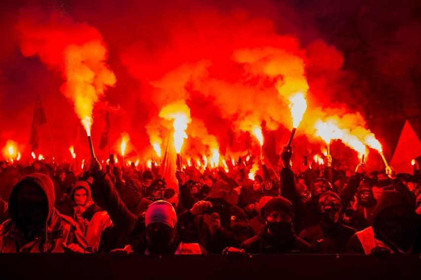 Marsz Niepodległości w Warszawie. Przewodniczący NSZZ Policjantów komentuje zadymy na manifestacji