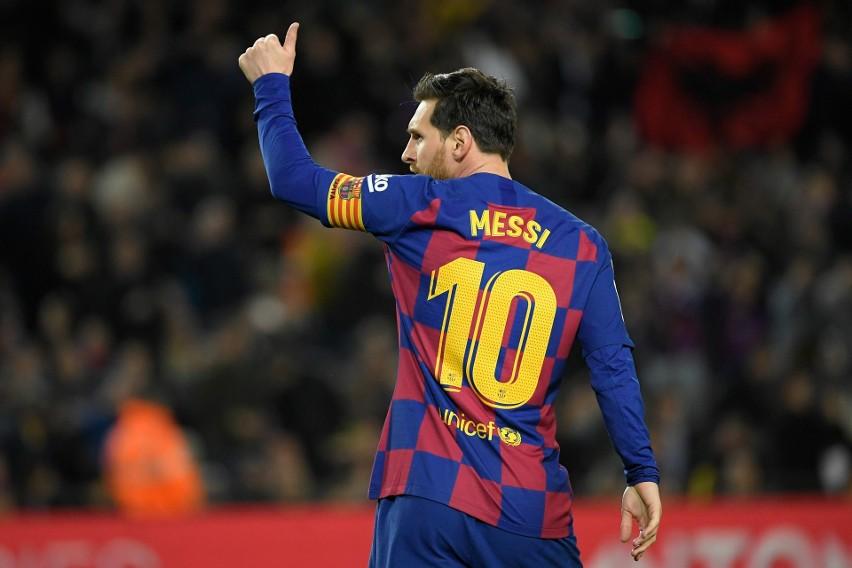 Piłkarze Barcelony zgodzili się na obniżkę pensji, piękna deklaracja Leo Messiego