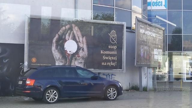 Billboard przy ul. Bałtyckiej we Wrocławiu