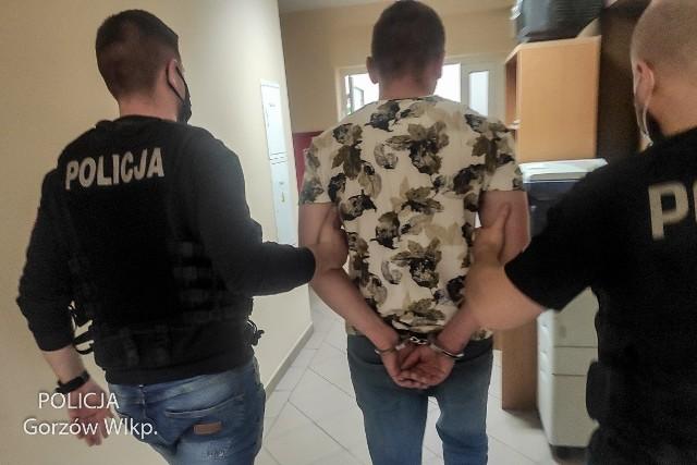 Gorzowscy policjanci ruchu drogowego szybko zatrzymali dwie osoby, które w jednym ze sklepów spożywczych ukradły towar i uciekły ze sklepu