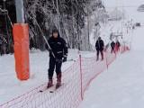 Podlaska policja jeździ na nartach. Szelment i Rybno pod nadzorem (zdjęcia, wideo)