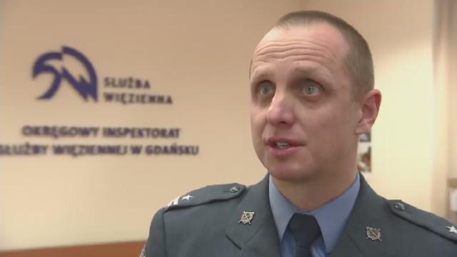Robert Witkowski, rzecznik Okręgowej Służby Więziennej w Gdańsku