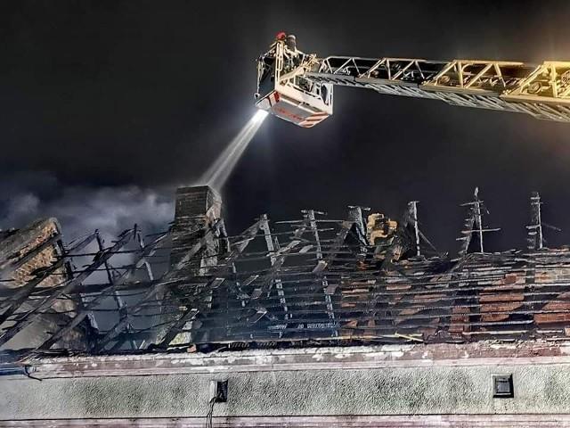 Pożar w Karczowie wybuchł 4 marca 2021 roku.