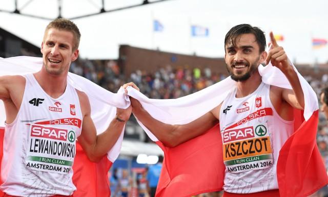 Marcin Lewandowski (z lewej) i Adam Kszczot