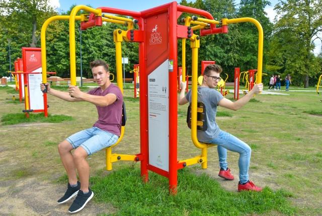 W Białymstoku powstało już 27 siłowni pod chmurką i street workoutów!