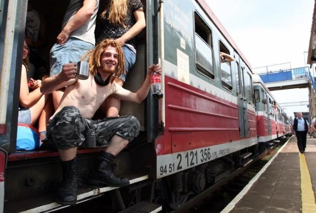 Dodatkowe pociągi na Pol'and'Rock 2021