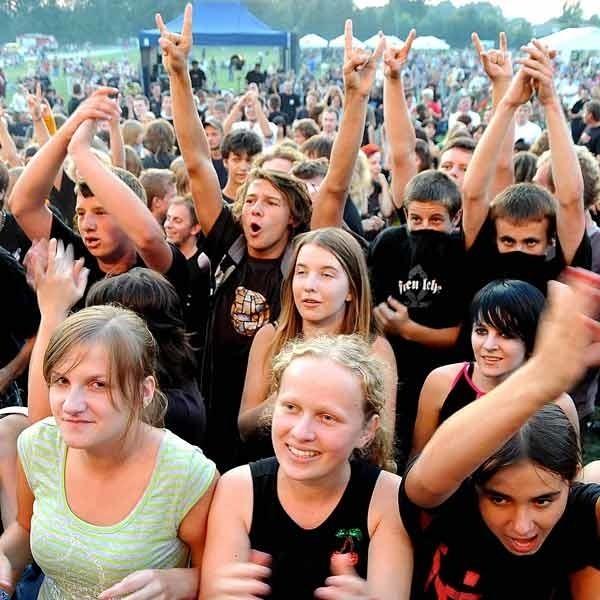 Na festiwal najwięcej fanów przybyło z powiatów lubaczowskiego i jarosławskiego, ale byli też ludzie z zamojskiego.
