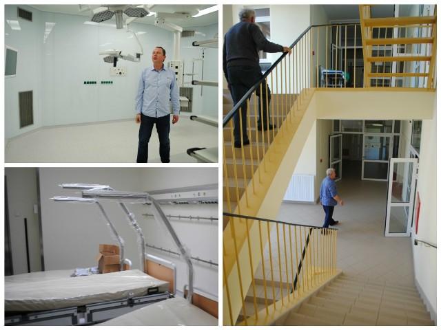 Zakończyły się prace związane z modernizacją szpitala w Golubiu-Dobrzyniu i dostosowaniem go do unijnych wymagań