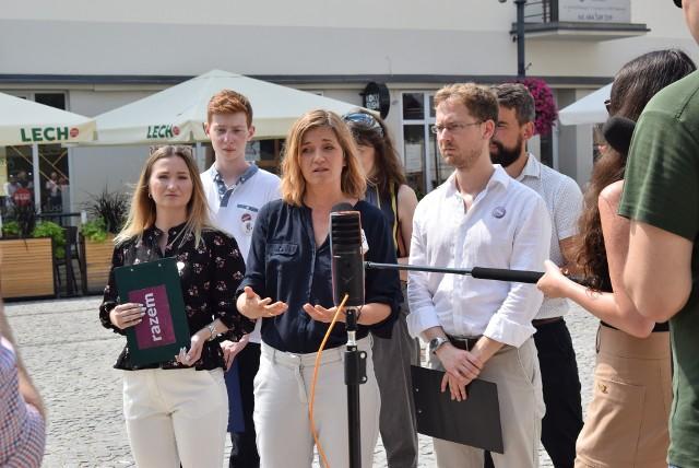Działacze partii Razem krytykują działania władz Białegostoku