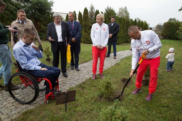W Kiermusach powstała Aleja Olimpijska